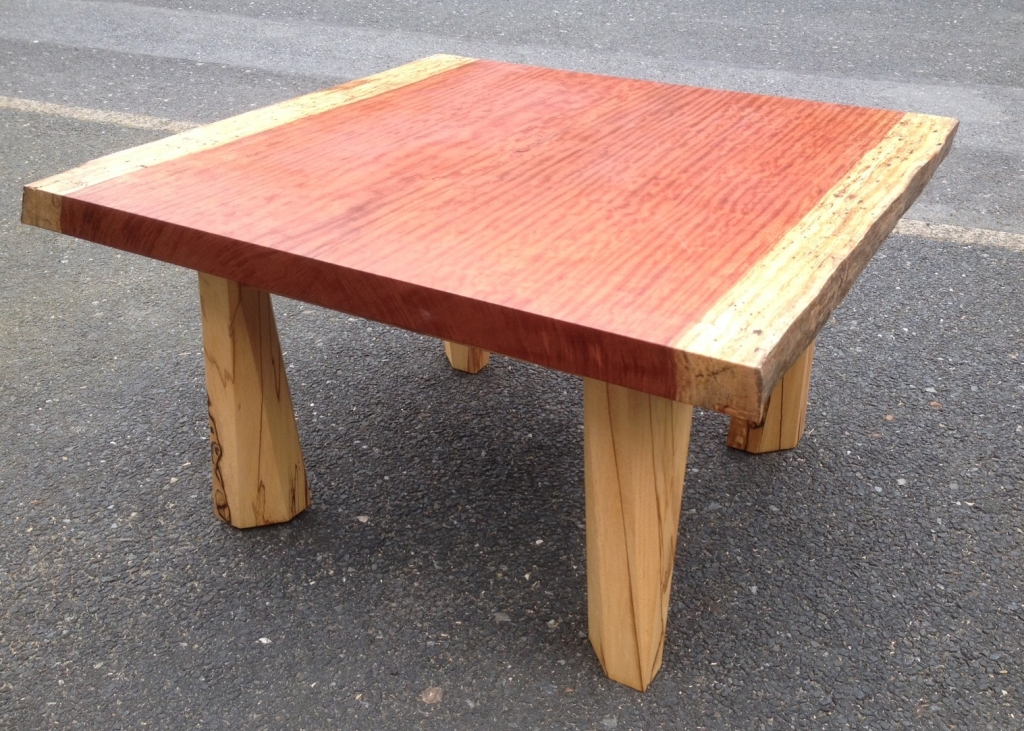 Paparwark Bubinga And Spalted Beech Coffee Table Only 700